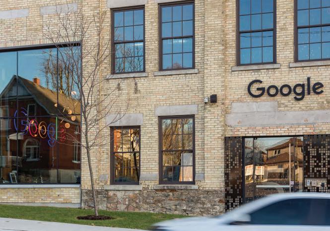 Google Downtown Kitchener