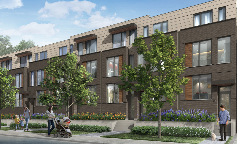 The New Lawrence Heights Townhomes