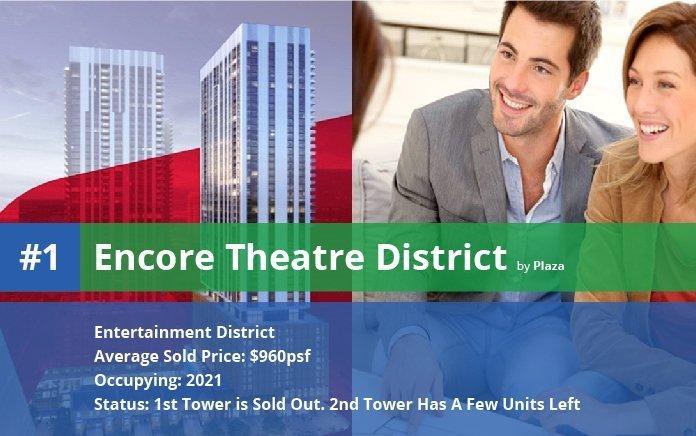 Encore Theatre District in Toronto's Entertainment District