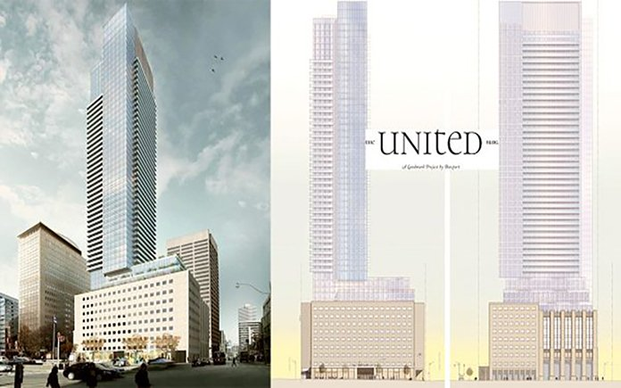The United Building Condos by Davpart