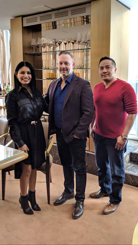 Brian Brown with Brigitte Brigitte Obregon and David Vu