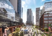 East Harbour new downtown Toronto neighbourhood transit hub office park employment residential retail area thousands of jobs and residents