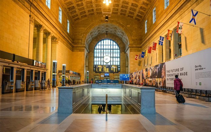 Inside the Historic Union Station