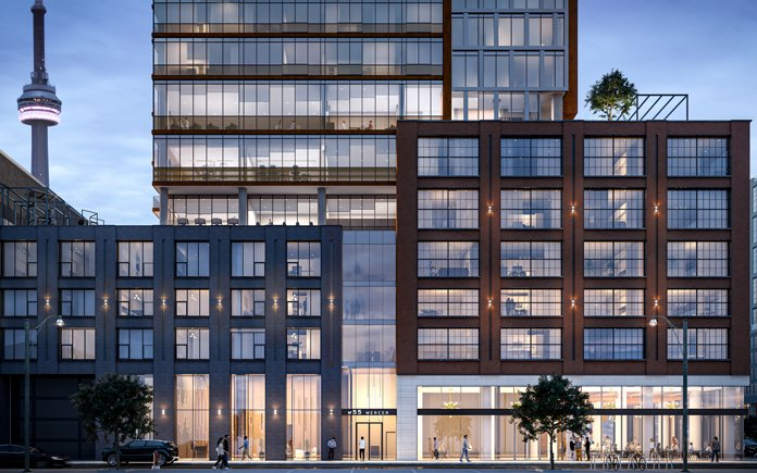 55 Mercer Condos in the Entertainment District