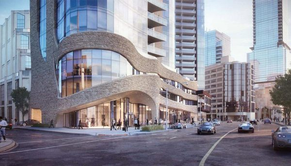 New Condo Project at 100 Davenport, Toronto, ON, M5R 3P1