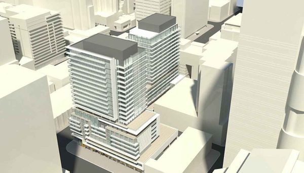 New Condo Project at 100 Edward Street, Toronto, ON M5G 0A7