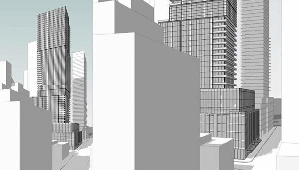 New Condo Project at 100 Simcoe St, Toronto, ON M5H 3G2