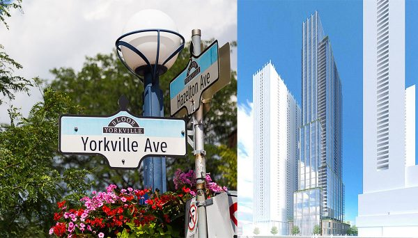 New Condo Project at 11 Yorkville Ave, Toronto, ON M4W