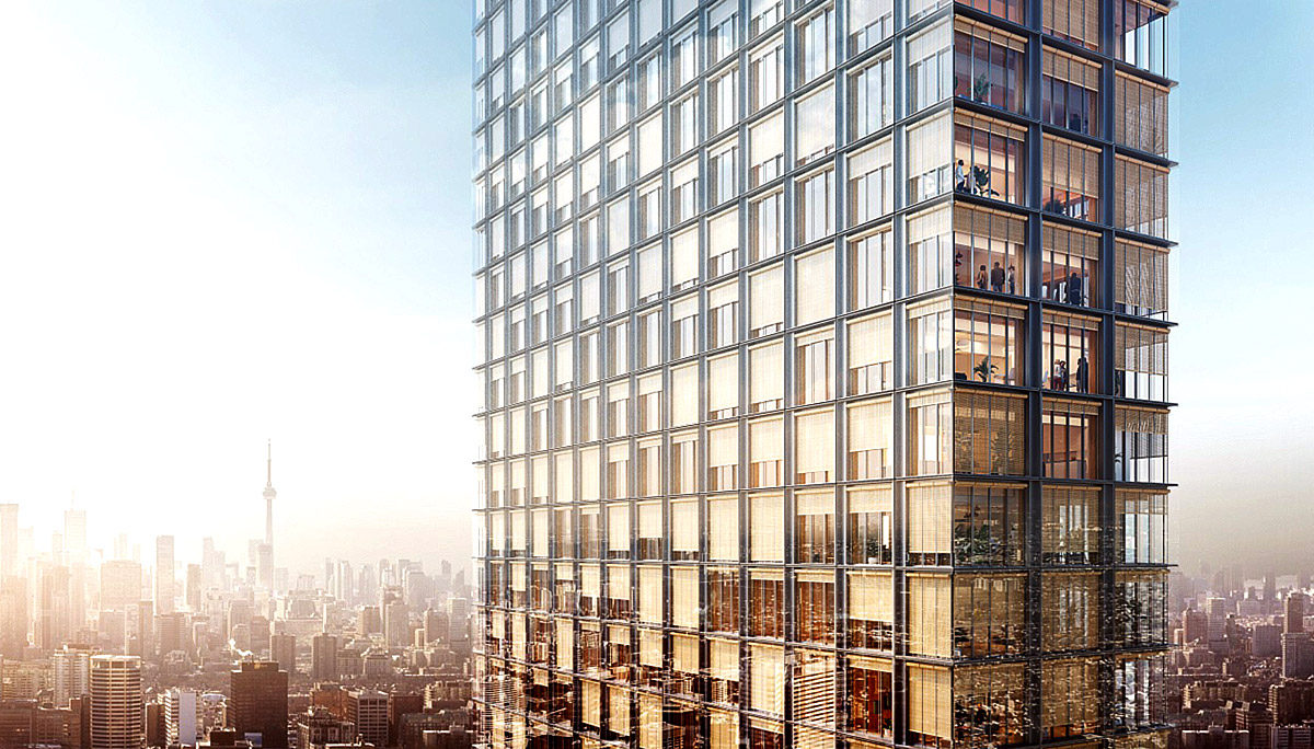 New Condo project at 1200 Bay St, Toronto, ON M4W 1J2