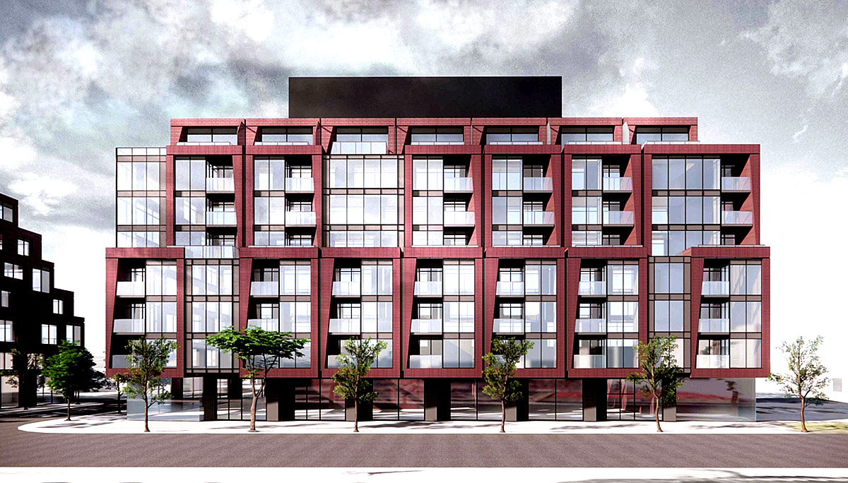 New Condo project at 126 Laird Dr, Toronto, ON M4G 3V3