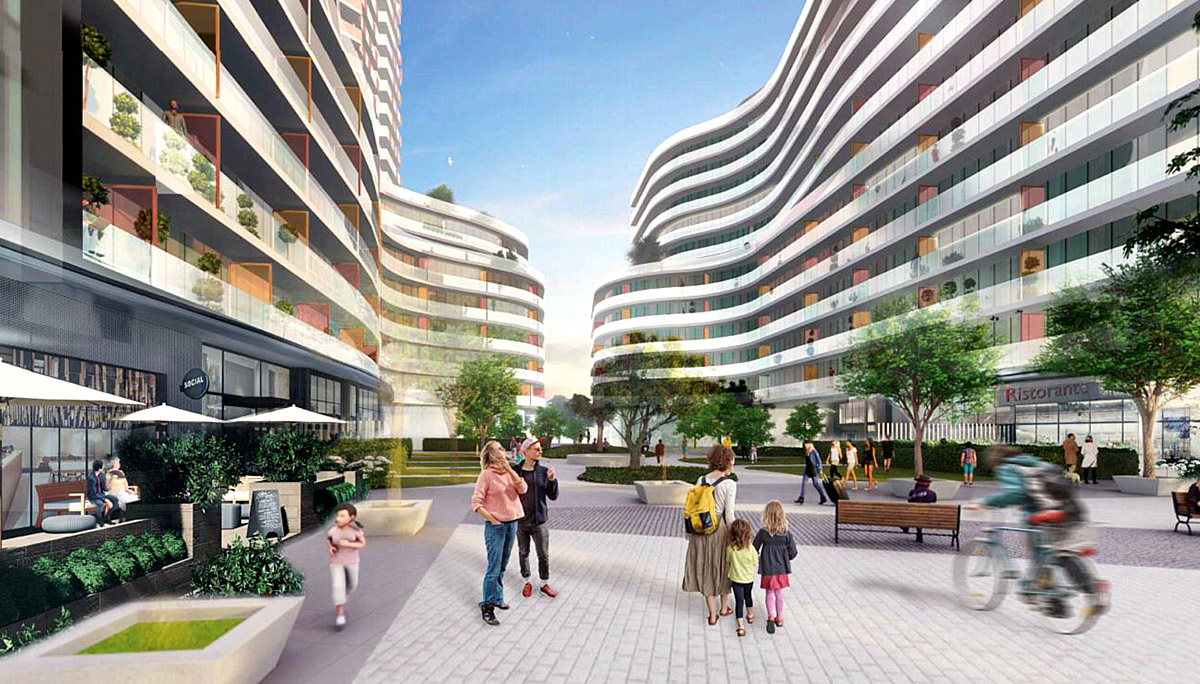 A new mixed-use development at 1306 The Queensway, Etobicoke, ON M8Z 1S4
