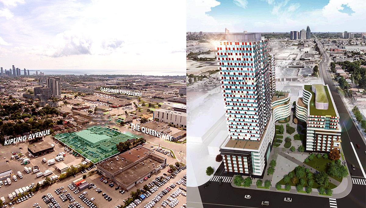 New Pre-Coinstruction Condo in The Queensway Neighbourhood