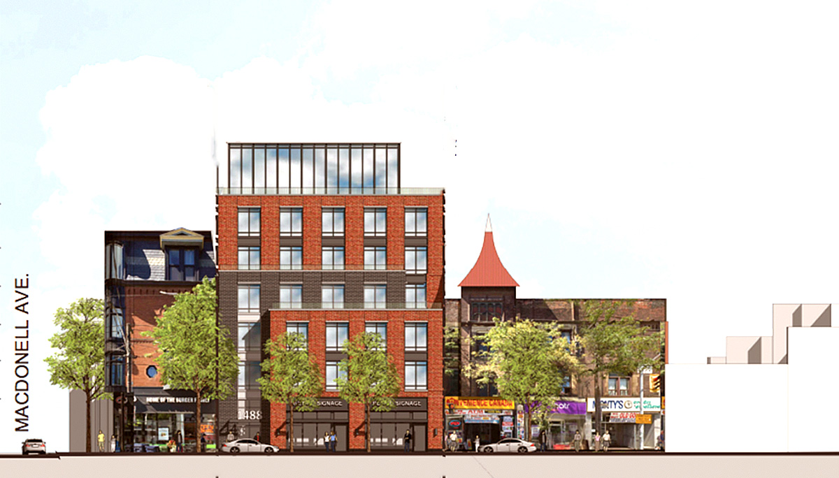 New Condo Project at 1488 Queen St W, Toronto, ON M6K 3K3