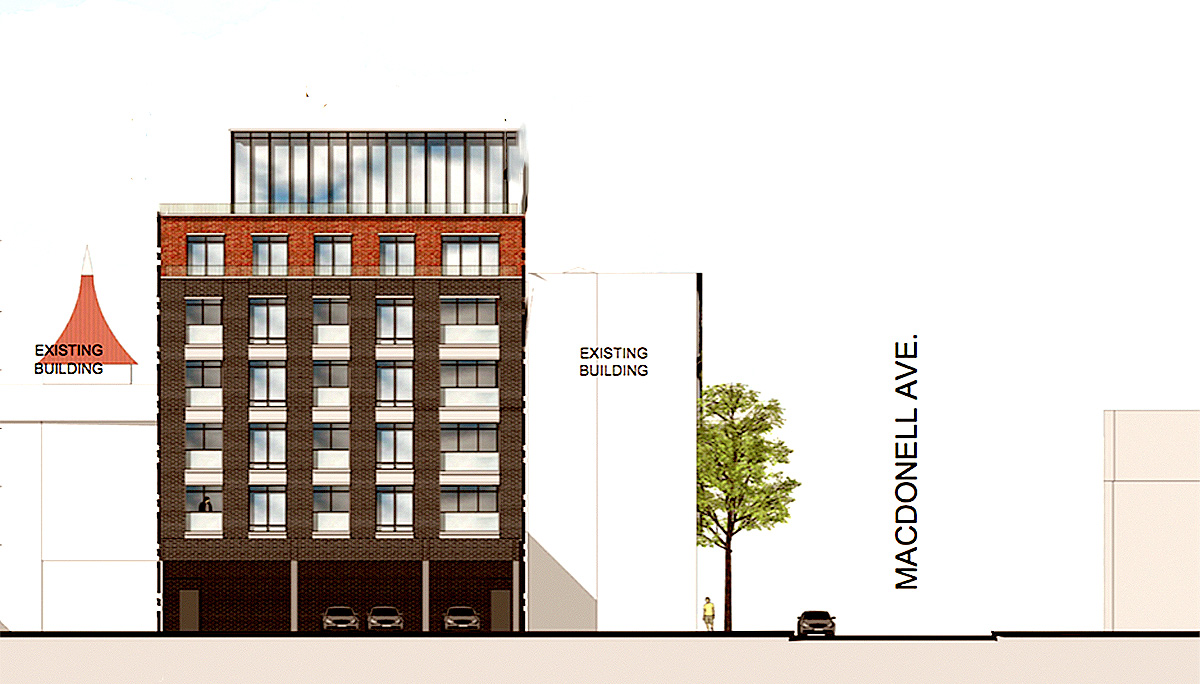 6-Storey, Mid-Rise Condominium The vibrant Parkdale Neighbourhood