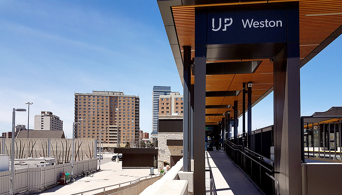 New 36-storey high building development in Weston neighbourhood