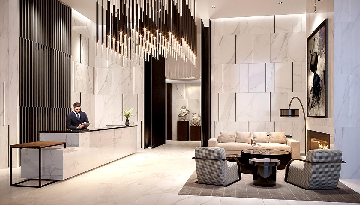 New luxury condominiums in Downtown Toronto