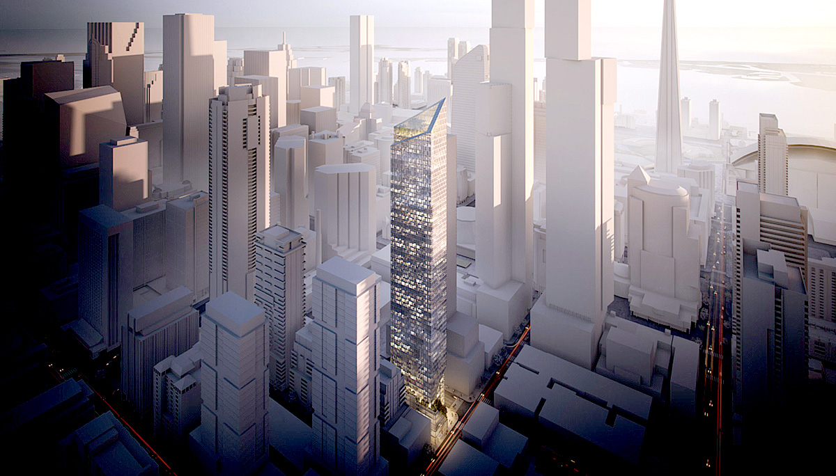 New 68 storeys high condominium with total of 637 residential units