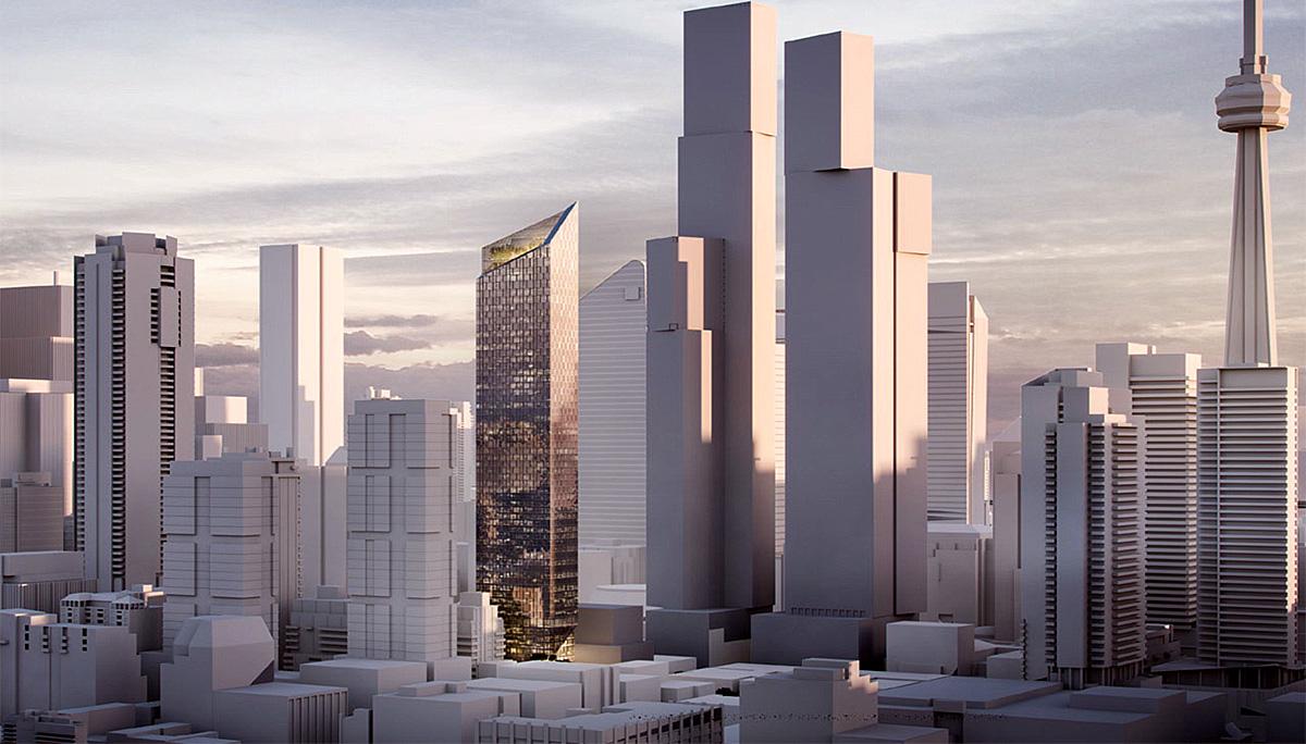New High-rise Condo Development in Entertainment District.
