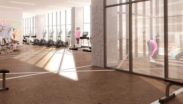 New Condo Amenities located at 250 Front St E, Toronto, ON M5A 1E9