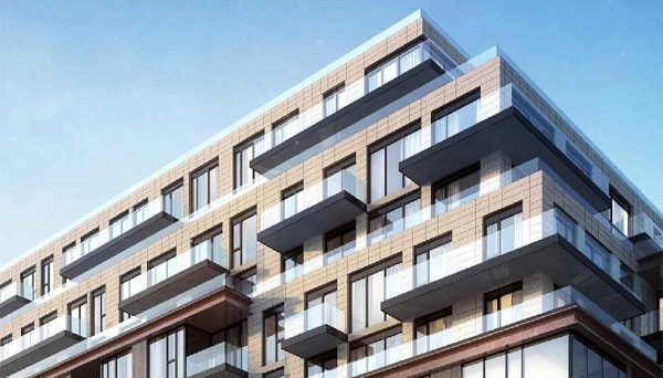 Suites in this Toronto mid-rise condo will include 44 one-bedroom units