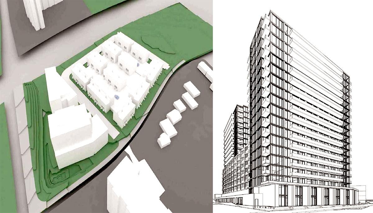 Six-acre condominium and townhome development