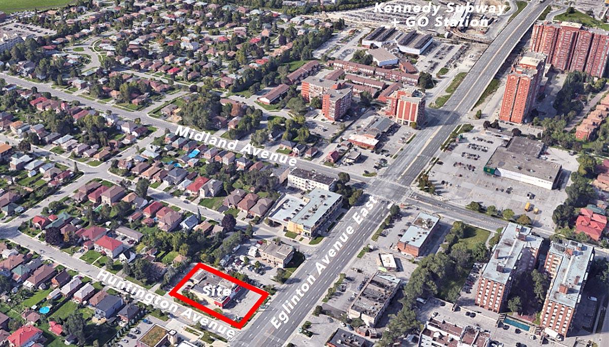 New Condo Project at 2567 Eglinton Ave E, Scarborough, ON M1K 2R7