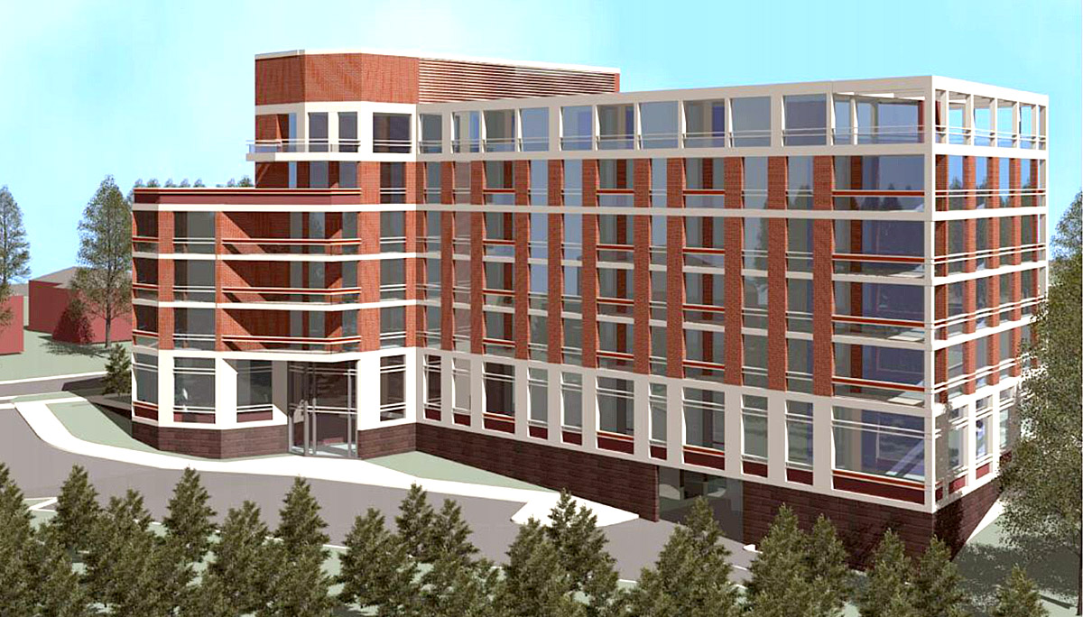 New 6-Storey Residential Building in the Rexdale neighbourhood