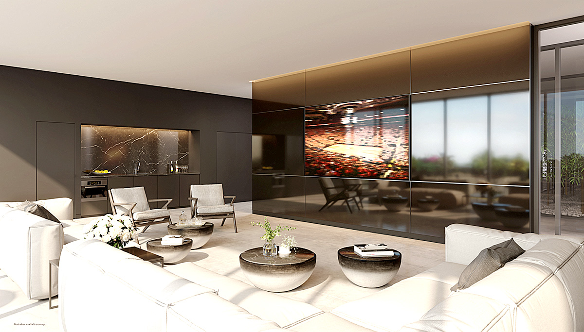 Condo suite sizes will be starting from 327 sq.ft