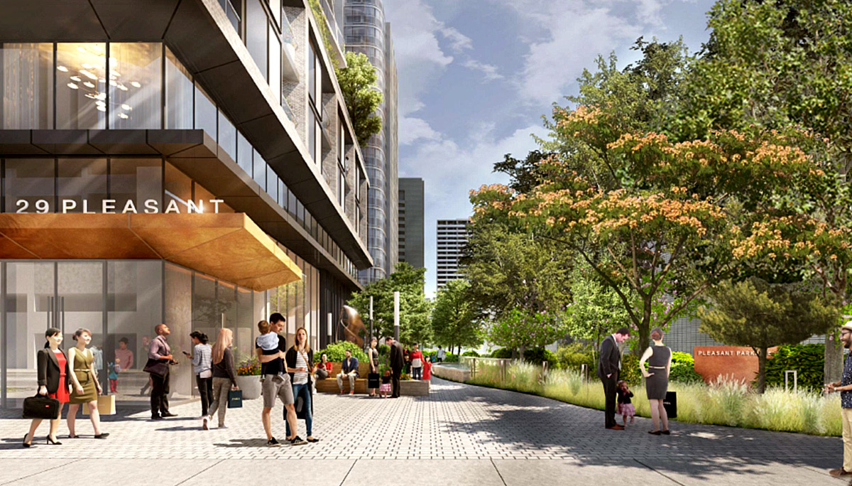 New Condominium Development at 29 Pleasant Blvd, Toronto, ON M4T 1K2