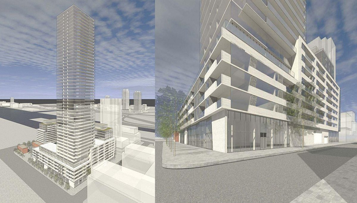 Condo Project at 309 Cherry St, Toronto, ON, M5A 3L3