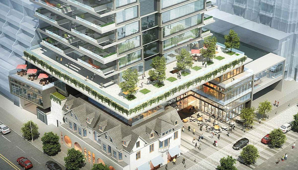 Condo Project at 33 Avenue Rd, Toronto, ON, M5R 2G3