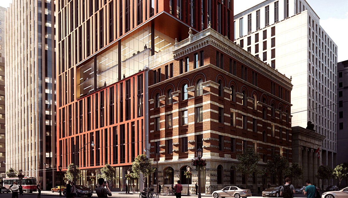 New condo project at 34 King St E, Toronto, ON M5C 2A1