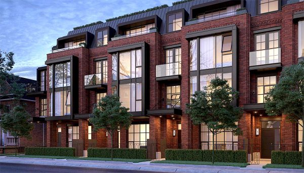 New Townhome Project at 36 Birch Ave, Toronto, ON M4V 1C8