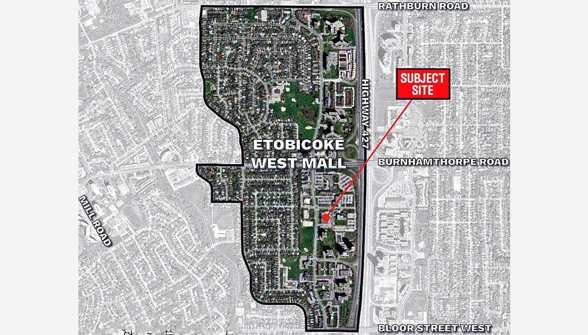 New Condominium Development at 385 The West Mall Condos