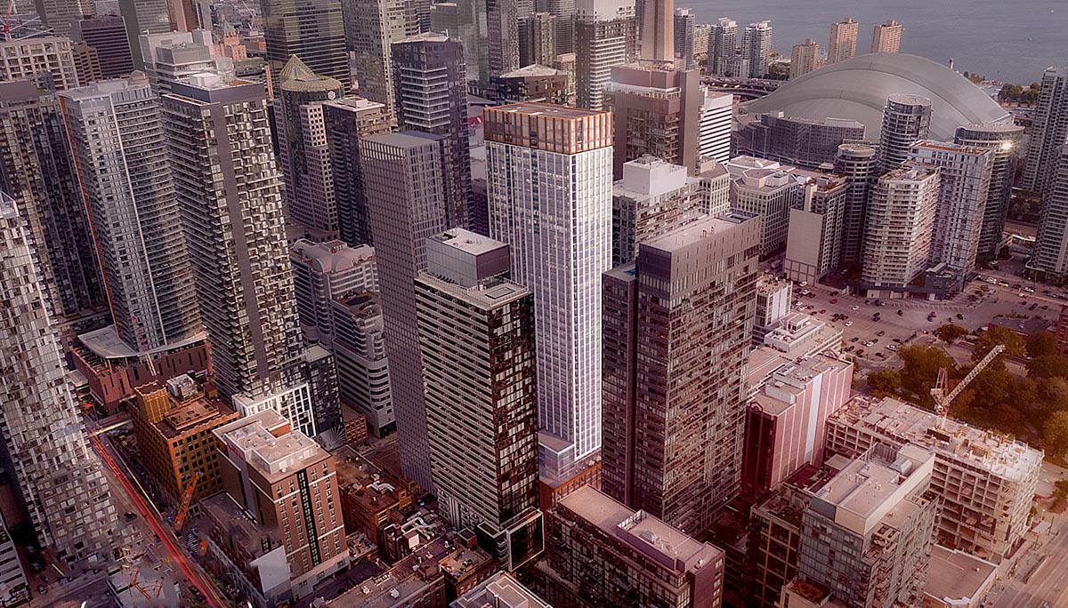 New Condominium Development in the Entertainment District