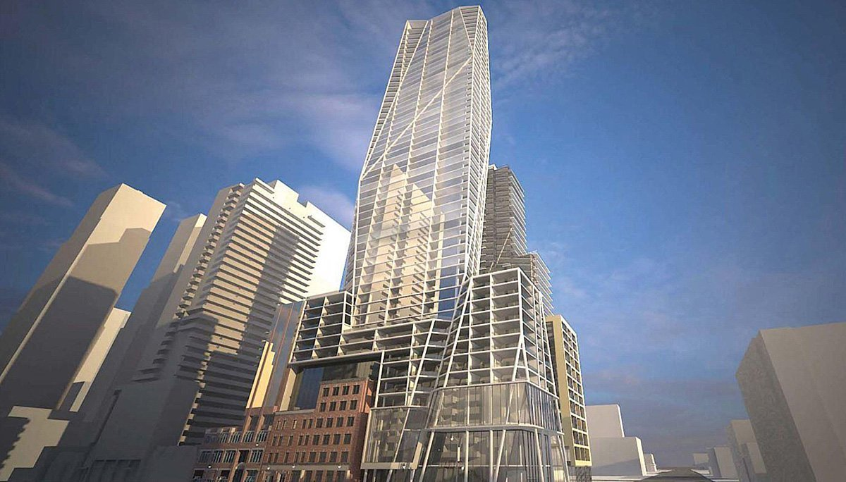 New Condo project at 401 King St W, Toronto, ON M5V 1K1