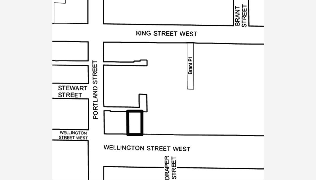 New Codominium Development at 504 Wellington St W, Toronto, ON M5V 1E3