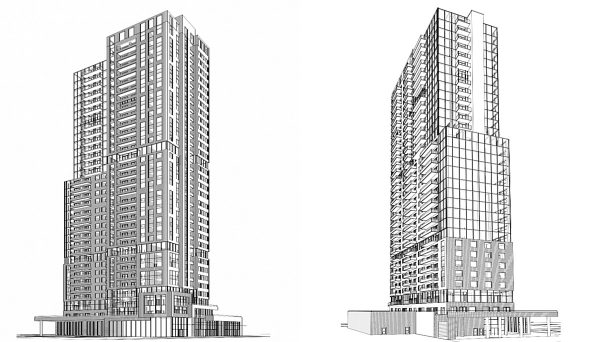 New condo project at 5300 Yonge St, North York, ON M2N