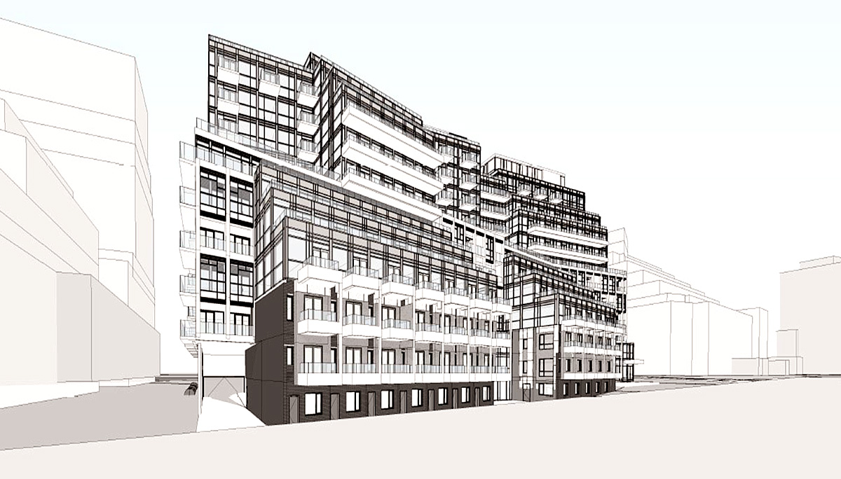 New 12 storeys pre-construction condoand with 427 units