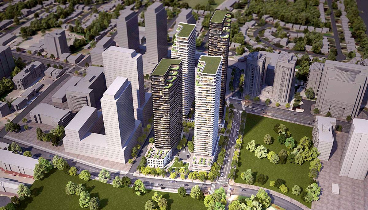 New commiunity development at 5800 Yonge St, North York, ON M2M 3T3