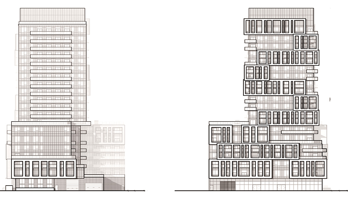 New Modern Condo Tower with 262 Units and 8,700 Square feet of Retail Space