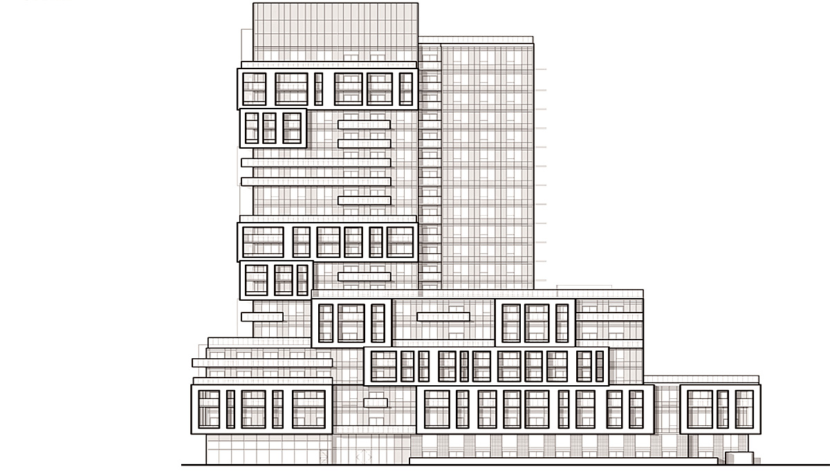 New 20 storeys-high condominium in North York's Newtonbrook neighbourhood