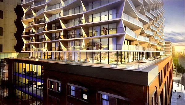 New Condo development at 633 King St W, Toronto, ON M5V 1M5