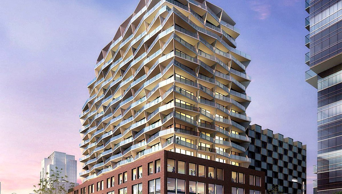 A new luxury, high-rise condominium in King West village
