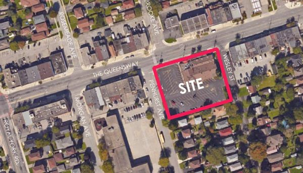 New Townhome Development at 689 The Queensway, Etobicoke, ON M8Y 1L1
