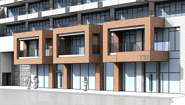 New Condo development at 733 Mt Pleasant Rd, Toronto, ON M4S 2N4