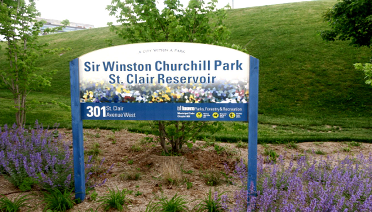 A low-rise Luxury Condominium Close to Winston Churchill Park