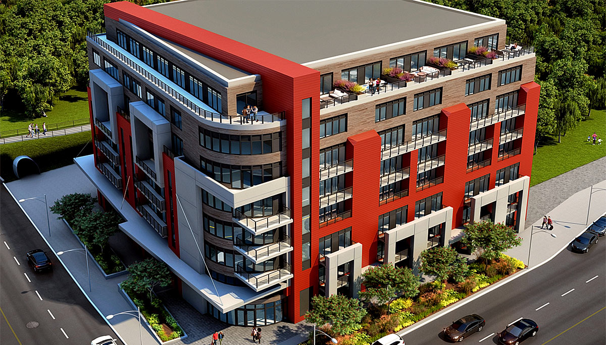 New Condo project at 2433 Dufferin St, North York, ON M6E 3T3