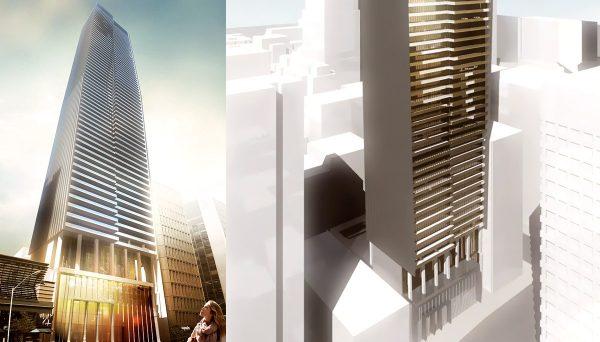 68-storeys, boasting 565 residential units