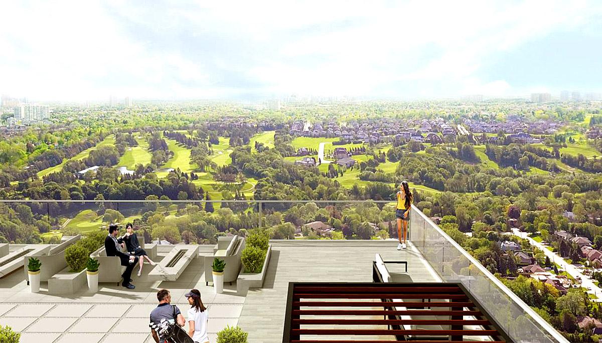 New 10-storey luxury mid-rise condominium development in Thornhill